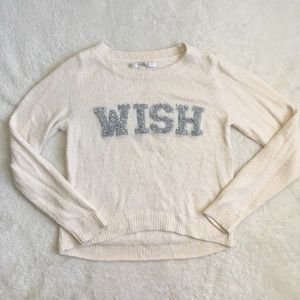 "Super Soft Fuzzy ""Wish"" Sweater"